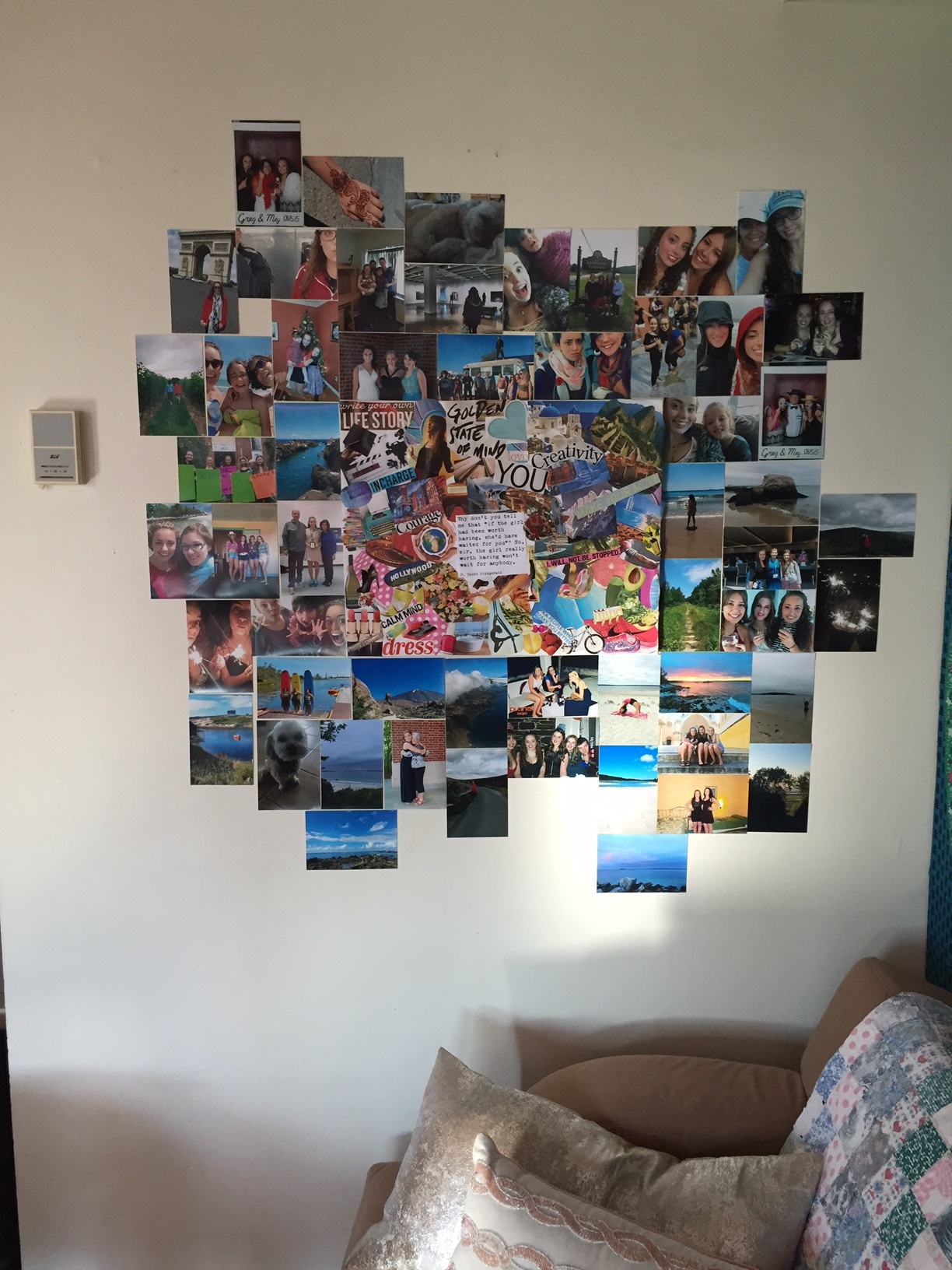 Follow your dreams and stay true to your passions with this awesome DIY craft for teens! Make your own vision board!