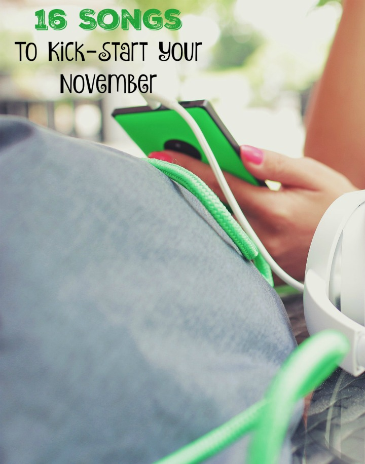 Are you feeling the November blues? Stressed with school? We've got 16 Songs To Kick-Start Your November! Who's ready for an impromptu dance party?