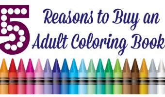 Adult coloring books are a great way to relieve stress and have fun! Check out more reasons why these should be on your wish list!