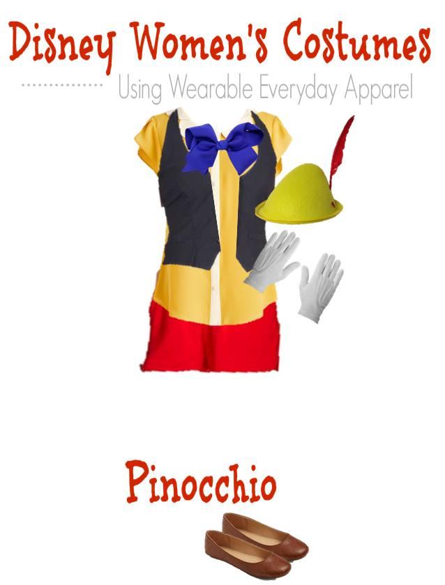 Disney Halloween Fashion Board costume for teens - Pinocchio (1)