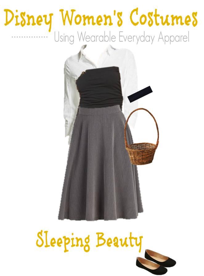 Disney Halloween Fashion Board costume for teens- Sleeping Beauty (1)