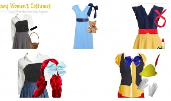 Awesome Disney Costumes Using Items in Your Closet