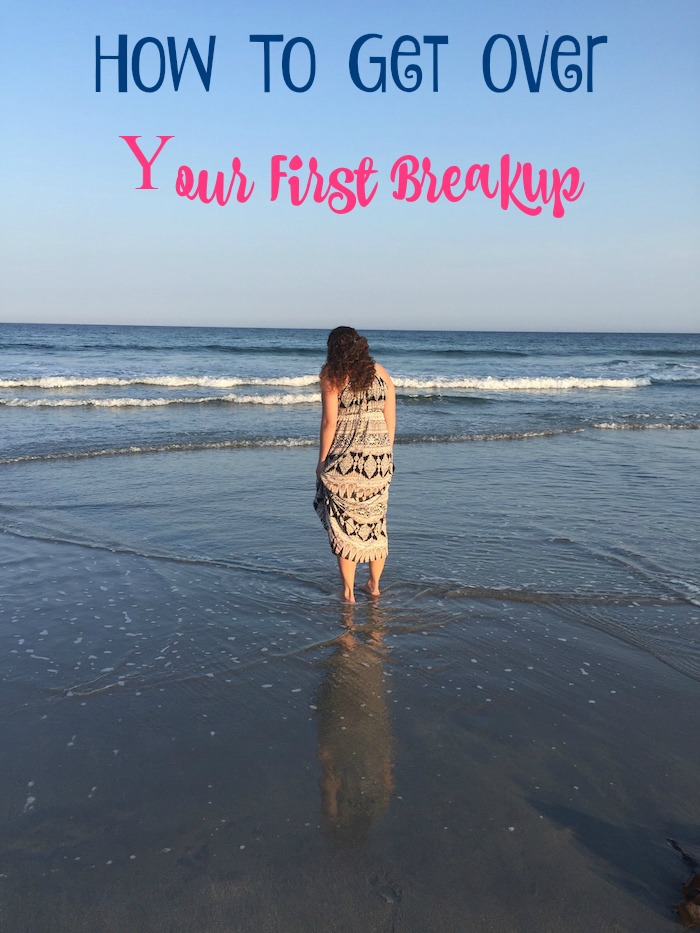 So you broke up. It's okay. Check out these tips to help you get over your first breakup, love yourself & move on! (Because we think you're pretty darn amazing!)