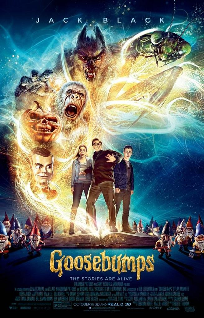Who's ready for the Goosebumps live-action, full-length movie featuring Jack Black? We can't wait! Check out everything you need to know about this film!