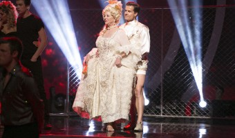 EMMA SLATER, HAYES GRIER, PAULA DEEN, LOUIS VAN AMSTEL: TOM BERGERON, LEAH REMINI: TOM BERGERON, ALEK SKARLATOS, LINDSAY ARNOLD: halloween at Dancing with the stars season 21 week 7 recap