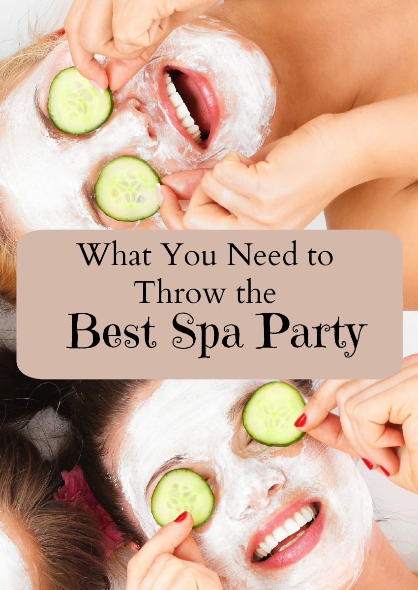 A spa party is a super fun way to spend some QT with your besties.  Check out my list to make your spa party relaxing and fun!