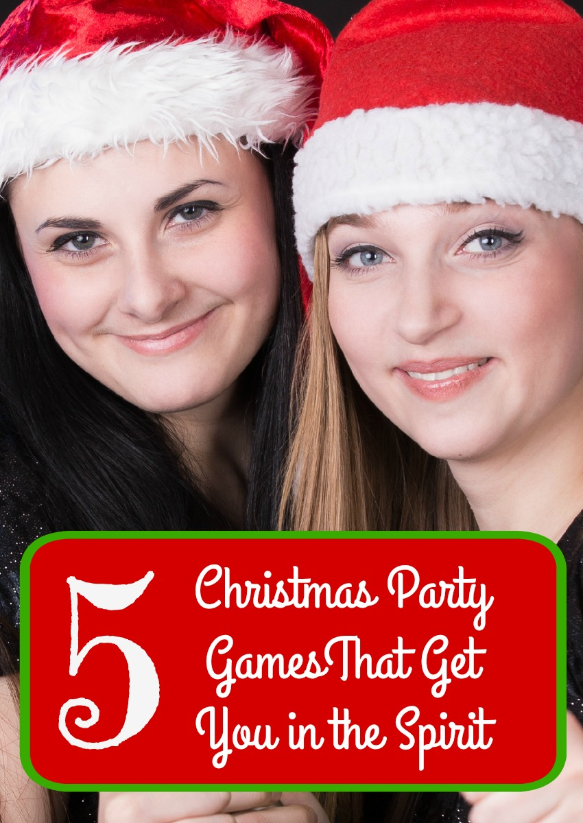 Get into the spirit of the holiday season with these five fun Christmas party games that everyone in your crew will love playing! Which is your favorite?