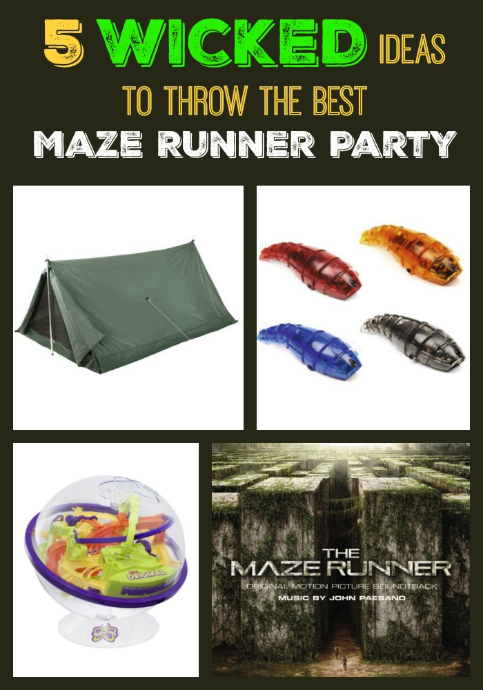 Planning a Maze Runner party? Check out 5 amazing ideas to make it the most WICKED (good!) party you've ever hosted!