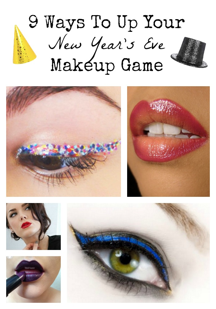 Get A Look That S All Glitz And Glimmer With These New Year Eve Makeup Ideas