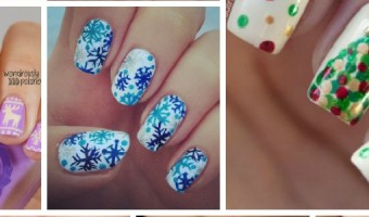 Insanely Stunning & Festively Fun Christmas Nail Art Ideas