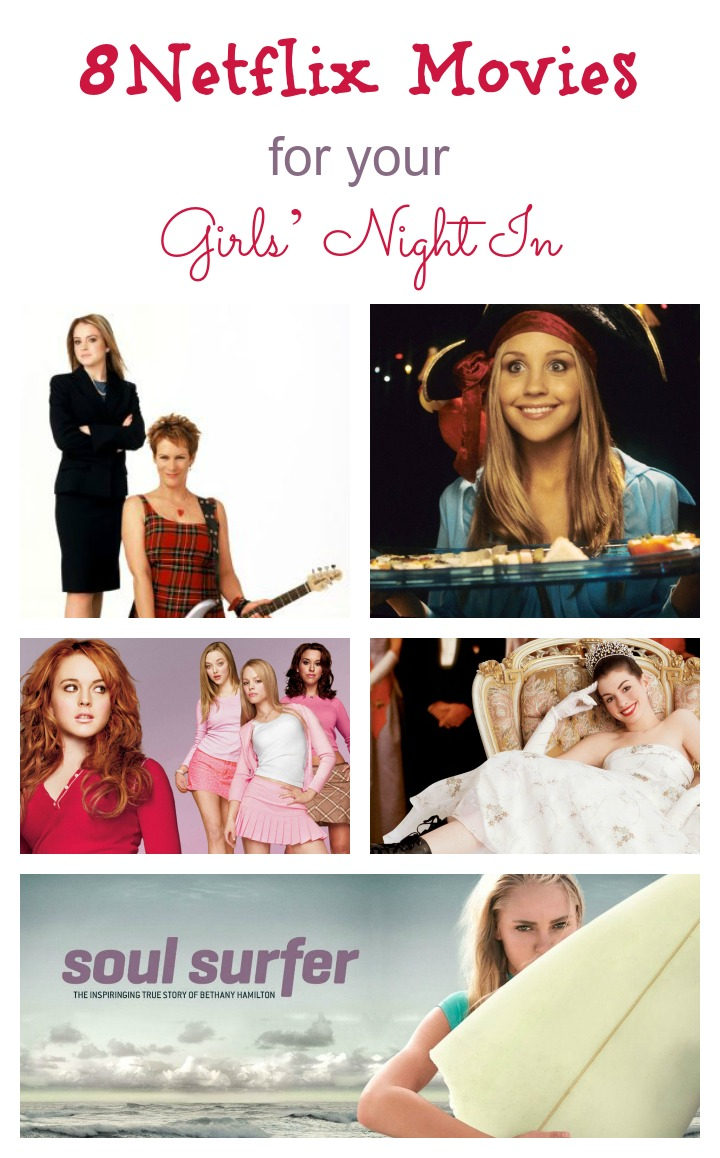 Group message your girls right now! We've got the best Netflix movies for a night in with your girls! Who's bringing the popcorn and chocolate?