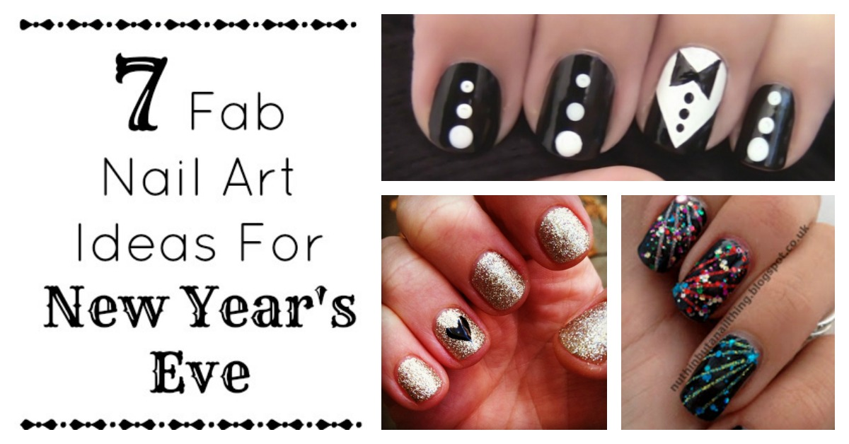 7 Fab DIY Nail Art Ideas For New Year\'s - My Teen Guide