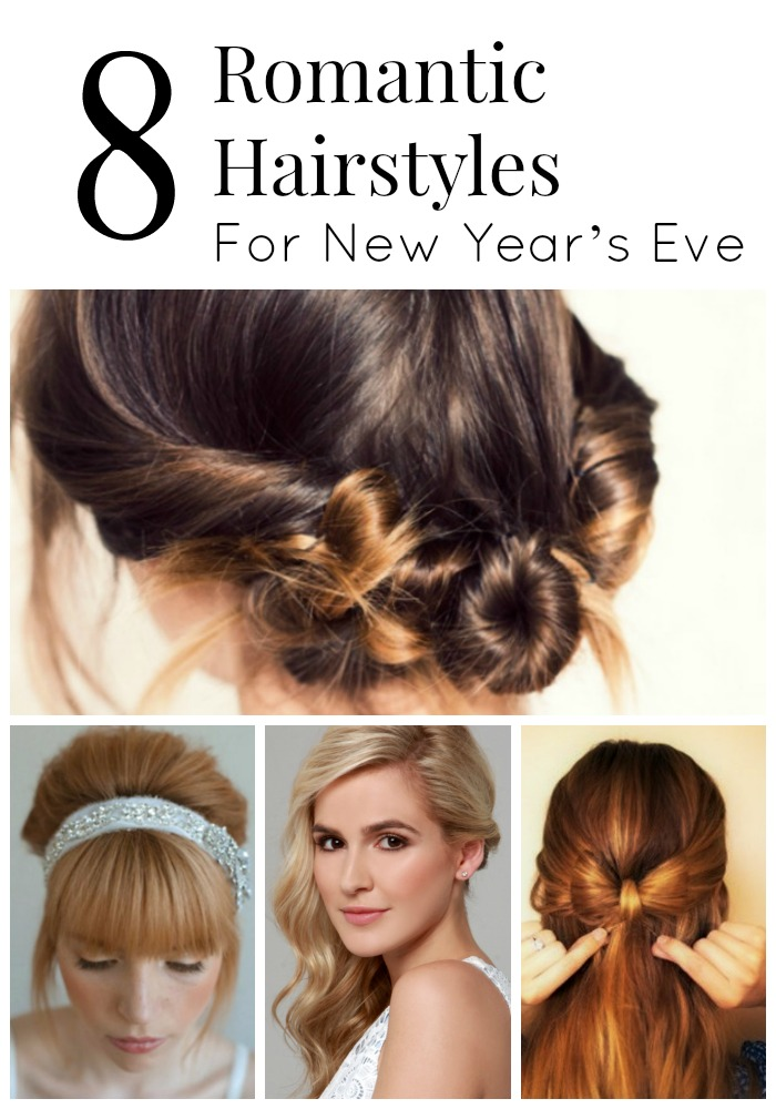 These gorgeous hairstyles for New Year's Eve will inspire you to make a look that is romantic and fun!
