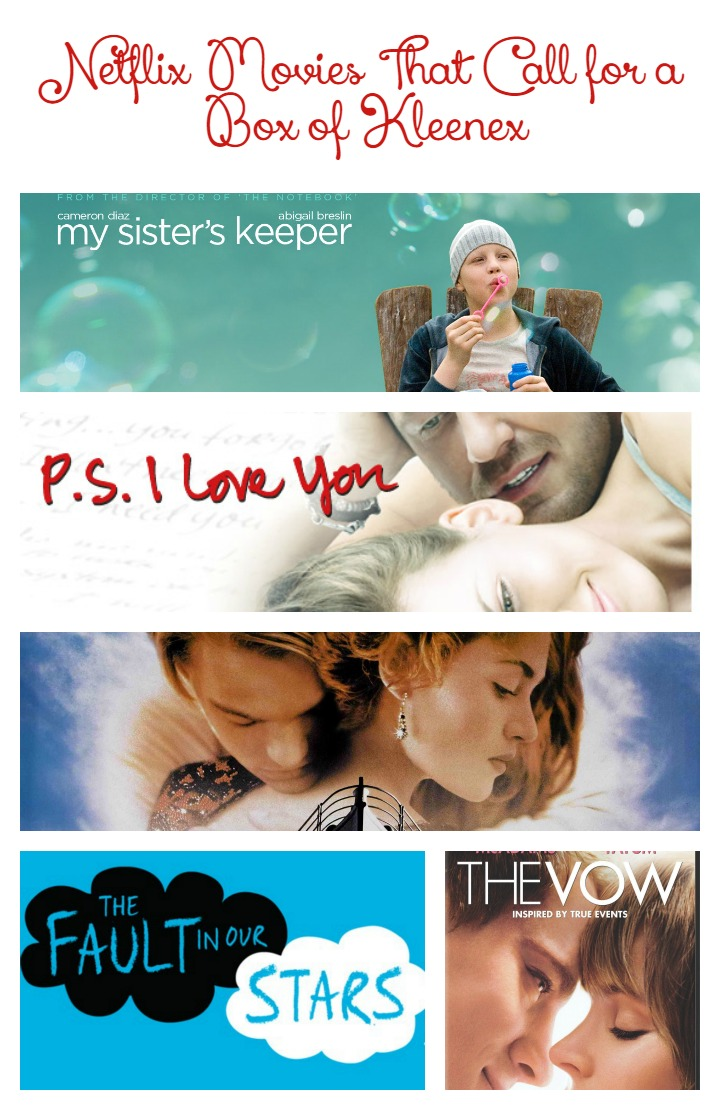 Sometimes we all need a good cry with our friends... Check out these 5 Netflix Movies That Call for a Box of Kleenex. Someone please pass the chocolate now!