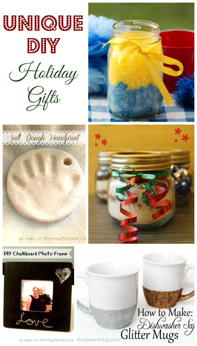 5 original diy christmas gift ideas for Unique ideas for christmas gifts