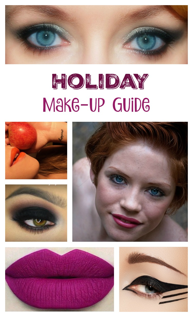Check out our holiday make-up guide! It's filled with awesome tips and tricks that you don't want to miss. Create the ultimate holiday look and have fun!
