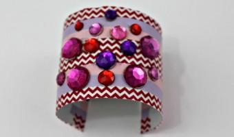 DIY Trendy Cuff Bracelet For Valentine's Day