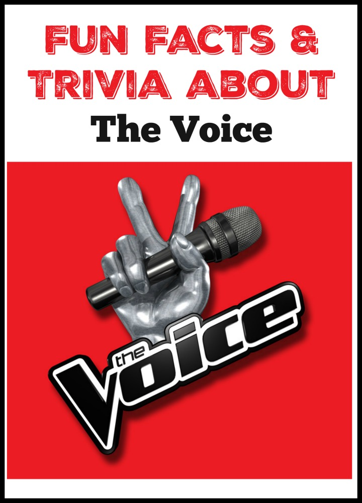 As one of the most popular reality talent shows on TV, there are plenty of interesting facts about The Voice! Check out a few of our favorites!