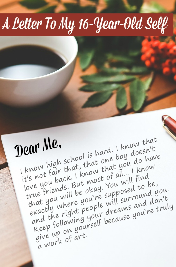 Filled with life lessons that I wish I could share with my 16-Year-Old self. I hope that they will help you navigate the crazy world of high school!