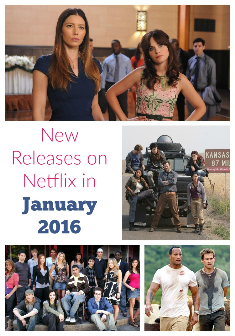 Looking for some great new shows & movies to watch with your BFF? Check out the new releases on Netflix in January 2016!