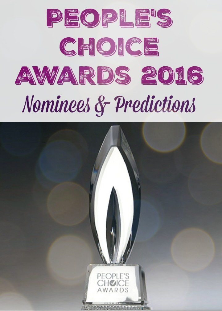 People's Choice Awards 2016 Nominees & Predictions