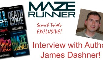 The Maze Runner: The Scorch Trials EXCLUSIVE Interview With Author James Dashner