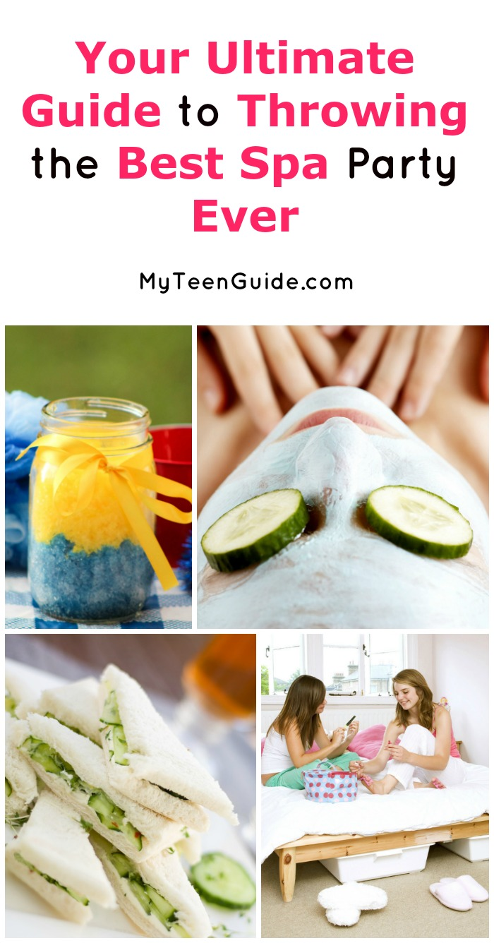 Host The Best Spa Party At Home For Tweens 11 12 And 13 Year