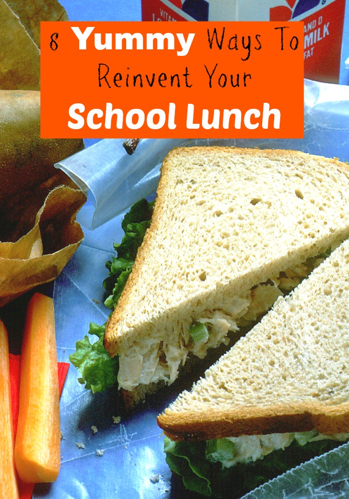 Is your lunch getting boring? Check out this article for the best tips & tricks to reinvent your school lunch. Your friends will be super jealous!