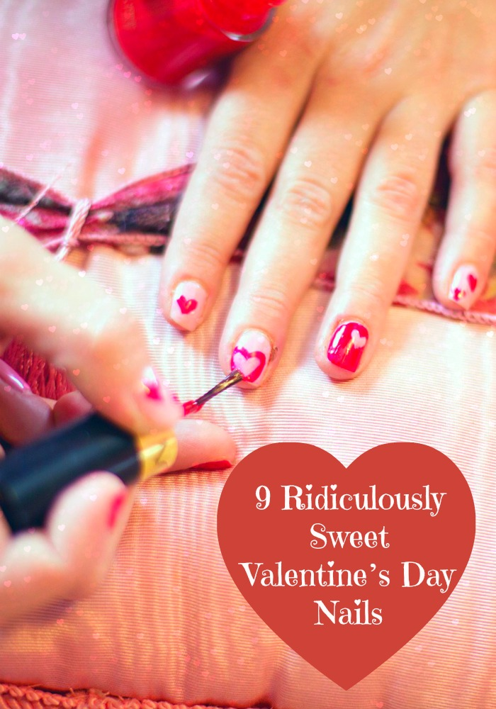 We have found the cutest Valentine's Day nails so you can start planning your manicure now! These designs are sweeter then candy hearts!