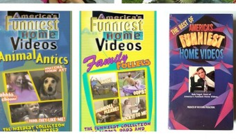 America's Funniest Home Videos on VHS and DVD's