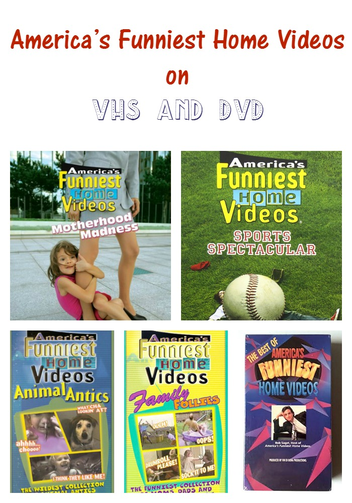 Check out our America's Funniest Home Videos VHS and DVDs list to build or complete your collection of the comedy show!