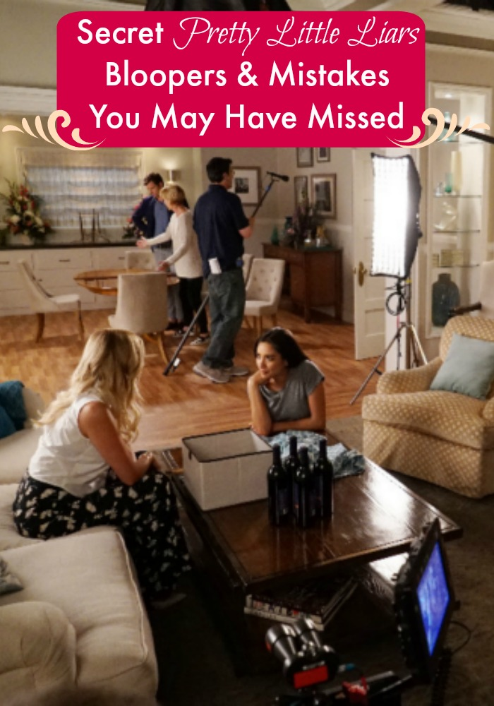 Catch all of the secret Pretty Little Liars Bloopers with our guide. You are going to want to watch all six seasons again to find these secret mistakes.