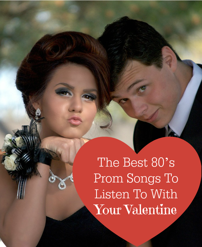Rock out with some classic prom songs from the 80's! These epic love ballads are perfect to set the romantic scene for Valentine's Day with your sweetie.