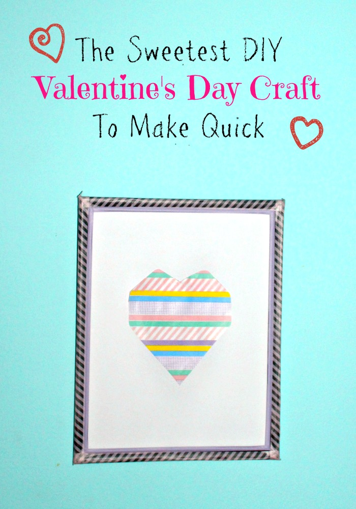 The Sweetest Diy Valentine 39 S Day Craft To Make Quick My