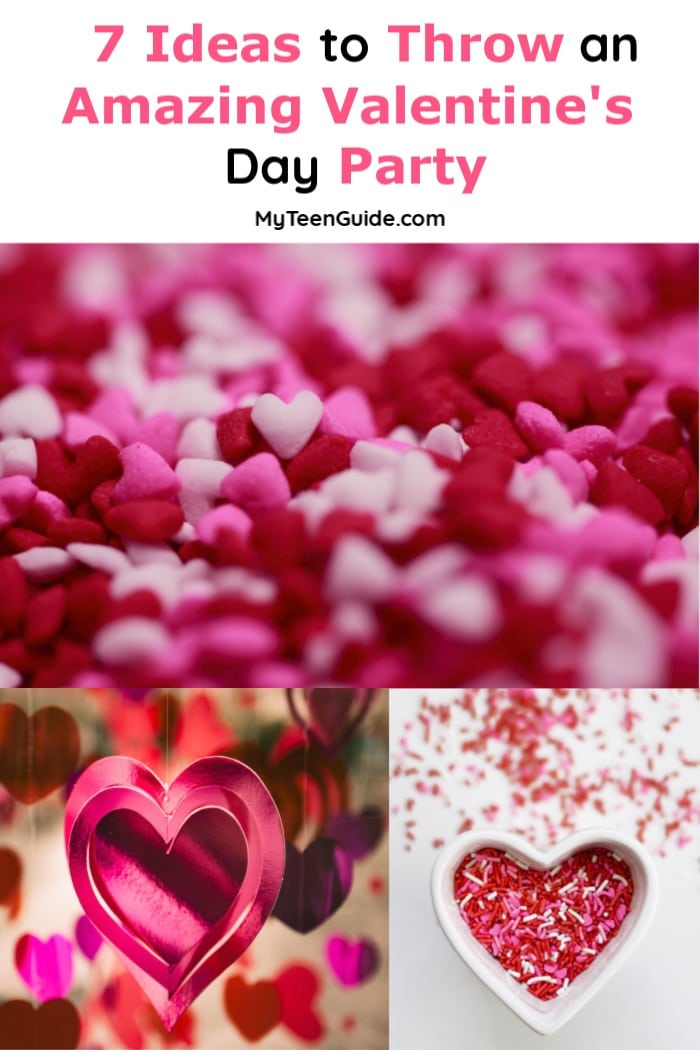 Throw an amazing Valentine's Day Party for teens! Your whole squad is going to love. these ideas that are a mix of sparkle and sweet!