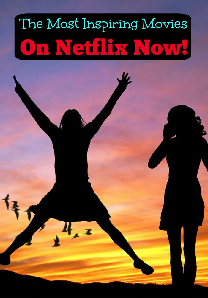 I love finding inspiring movies on Netflix that make me want to save the world! Check out my list of inspirational movies on Netflix.