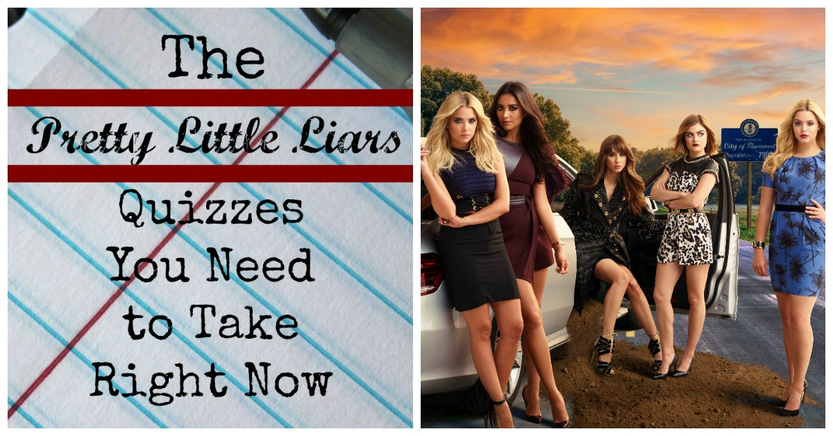 Pretty Little Liars Quizzes To Take Right Now