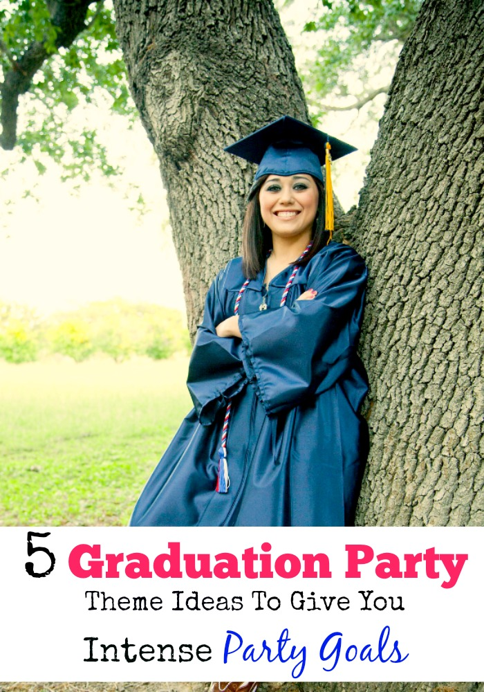 You've worked hard for so long, and now it's time to pick your graduation party theme! Your party will be unique with these amazing themes!