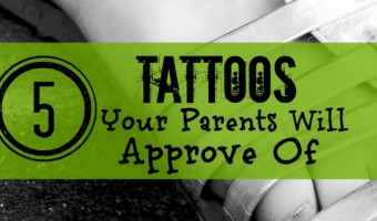 5 Beautiful Tattoos Your Parents Will Approve Of