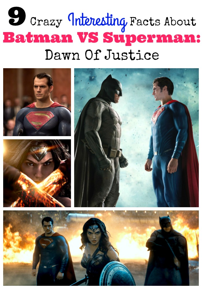 You NEED to know all of these interesting facts About Batman VS Superman: Dawn Of Justice now! This is the most anticipated movies of the year!