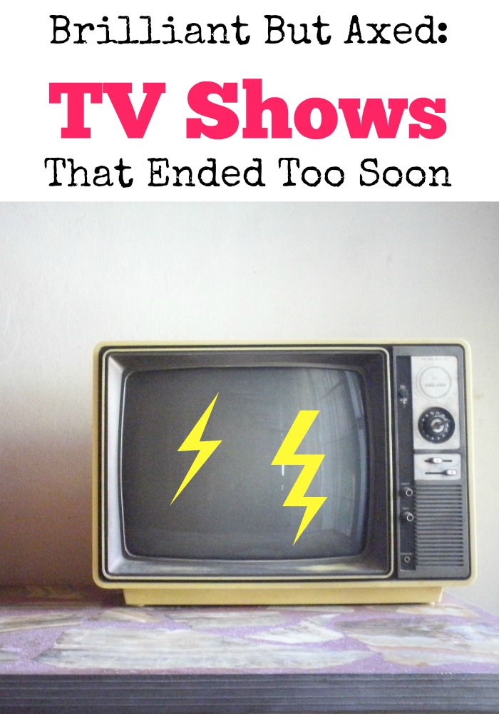 Have you ever found yourself watching tv shows that ended too soon and you're screaming why? See our list of fav shows that were canceled way WAY too early.