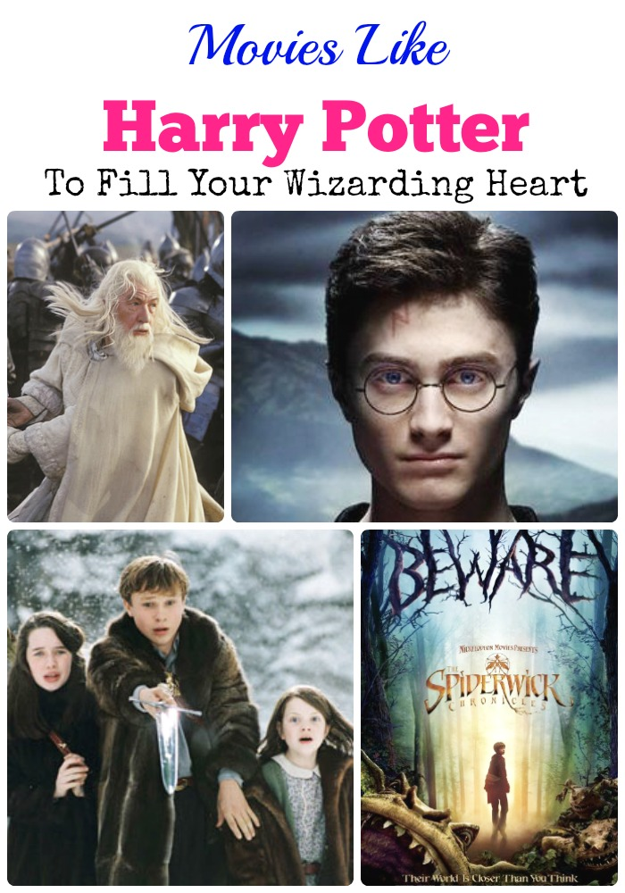 I solemnly swear I am up to no good. We've gathered some great movies like Harry Potter full of adventure to tide you over until the new prequel hits theaters!