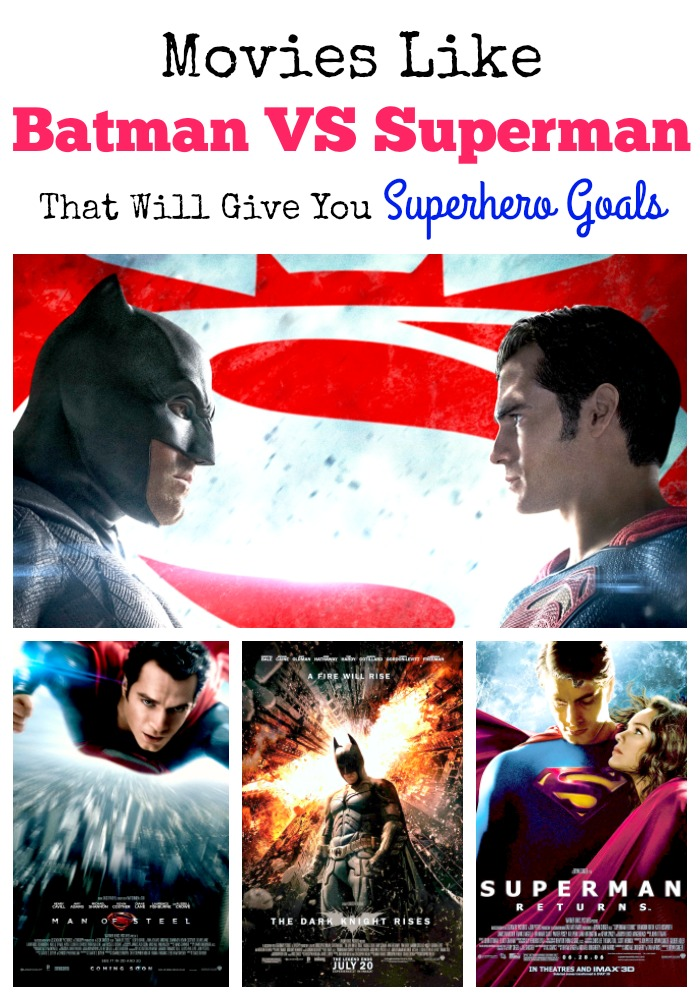 Need another excuse to be excited? Check out these movies like Batman VS Superman: Dawn of Justice and catch up on all the details for this epic movie!