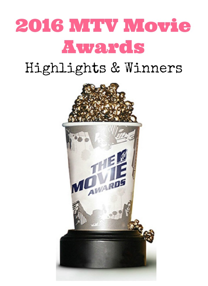 Miss the 2016 MTV Movie Awards? Don't worry, we have your recap with the highlights and all the big winners right here! Check it out!