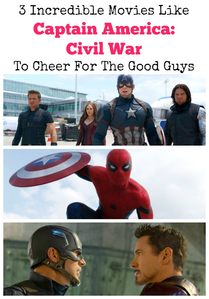 The Captain America: Civil War movie is hitting theaters soon! Until then check out these superhero movies like Captain America Civil War to watch now!