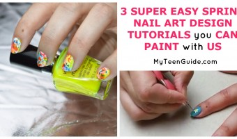 3 Super Easy Nail Art Designs Tutorials You Can Paint With Us From Facebook Live