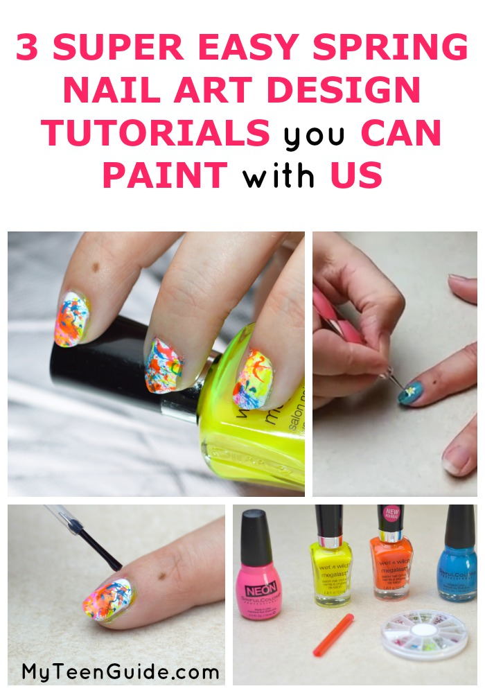 Do you love nail art, but arent' sure where to start? There are so many amazing nail art ideas, but it can be overwhelming! We created video tutorials to teach you how to make your own nail art designs! Grab your nail polish and click on this post to paint along with us!
