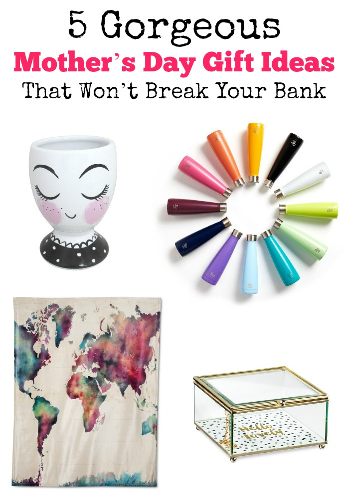 Can't think of what to get mom for Mother's Day? No problem! We've found some gorgeous Mother's Day gift ideas that are beautiful and budget savvy. Yasssss!