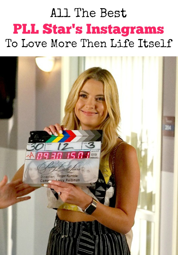 Craving some new PLL episodes? We've got you covered. See which star from PLL has the best Instagram and even get a glimpse behind the scenes!