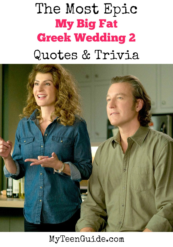 My Big Fat Greek Wedding Quotes Adorable All The Top My Big Fat Greek Wedding 2 Quotes & Trivia